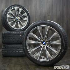 "BMW 18"" Alloy Wheels 5 Series E60 E61 Styling 247 Summer Tyres Rims"