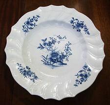 Tournai XVIIIe Grand plat 39cm porcelaine tendre décor Ronda