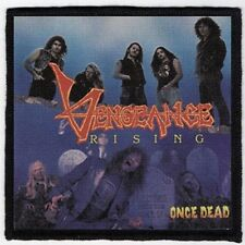 VENGEANCE RISING PATCH / SPEED-THRASH-BLACK-DEATH METAL