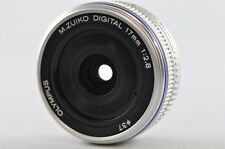 [Exc] OLYMPUS M.ZUIKO Digital 17mm F2.8 Silver Lens For Micro Four Thirds