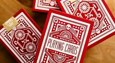 Red Wheel Playing Cards by Art of Play - Trick - Magic Tricks