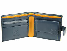 Visconti Bifold Mens Soft Leather Wallet For Cards, Banknotes & Coins - PM100