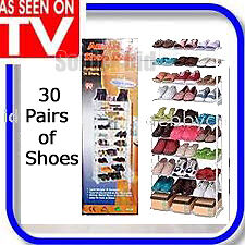SUPER AMAZING SHOE RACK STORES UP TO 30 PAIRS