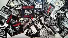 LOTS OF 8 DIE-HARD METAL STICKERS, 122 designs / 28 NEW designs(Nuclear War Now)