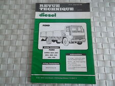 REVUE TECHNIQUE CAMION FORD CARGO 0611 - 0811 - 0915 - 1015 - 1115 - 1315 - 1515