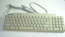 VINTAGE Apple IIGS A9M0330 keyboard and cable MADE IN TAIWAN COMPUTER GEEK FUN