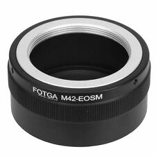 Fotga Adapter for M42 Mount Lens to Canon EOS M EF-M Mirrorless Camera Ring NEW