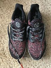 Adidas ULTRA BOOST NYC Black and Dark Red Size 9.5