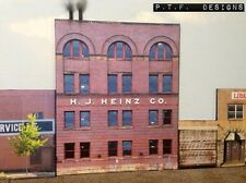 """*O Scale Scratch Built """"The Heinz Factory"""" Pittsburgh Building Front MTH Lionel*"""