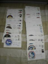 1980's-1990's Lot of 81 Space Shuttle First Day Covers NASA Employee Notes