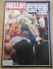 Hello! Magazine - Issue 475 - September 13 1997 - Funeral Of Princess Diana