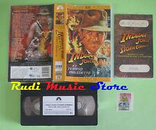 VHS film INDIANA JONES E IL TEMPIO MALEDETTI capitolo 23serie 03930*(F34*)no dvd
