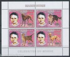 CONGO 2006 Set VF MNH DOGSCATS v  17,55 Dol - Nobel Price Marie cure  -  Da18