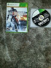 Xbox 360  4gb plus games and external hard drive for sale