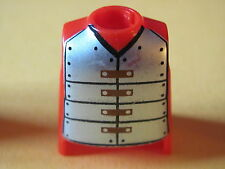 PLAYMOBIL @@ PERSONNAGE @@ HOMME @@ CUSTOM @@ BUSTE CORPS ROUGE @@ BUST @@ 02