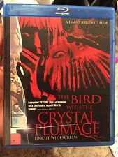 The Bird With The Crystal Plumage Uncut Widescreen Blu-ray Dario Argento