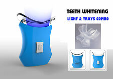 Teeth Whitening Accelerator Light, 6 X More Powerful with 2 Trays- VALUE PACK-Bl