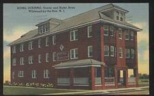 POSTCARD WILDWOOD BY THE SEA NJ/NEW JERSEY HOTEL OCEAN PROMO AD 1930'S