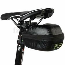 RockBros Waterproof Leather Bicycle Seat Saddle Bag Saddlebag Case MTB Road Bike