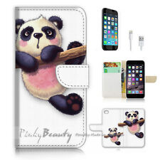 iPhone 7 PLUS (5.5') Flip Wallet Case Cover P3039 Panda