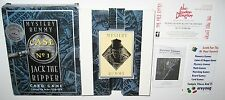 Mystery Rummy Case No 1 Jack The Ripper Card Game, London Dungeon Ticket, 1998