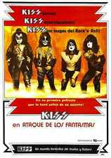 Kiss Meets Phantom Of Park Poster 01 Metal Sign A4 12x8 Aluminium