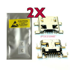 2 X New Micro USB Charging Sync Port Charger For LG Tribute 2 LS665 USA