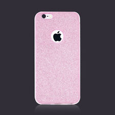 Girly Bling Sparkling Glitter Clear TPU Bumper Case for iPhone 7, 6/6s, Plus