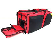 LINE2design Deluxe Oxygen First Aid Bag EMT Paramedic Fully Padded Black