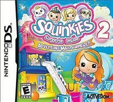 Squinkies 2: Adventure Mall Surprize (Nintendo DS, 2011) BRAND NEW SEALED