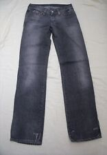 TH0055 G-STAR RAW DENIM Herren Jeans Schwarz Used TOMBOY PANT W27 L32 TOP