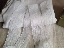 Vintage Whit Lace Trim 6.5yd Ballet Dolls Home Furnishings Vintage Wedding NOS