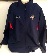 Reebok Authentic Apparel  Florida Panthers NHL Hockey Navy Blue Jacket  XL
