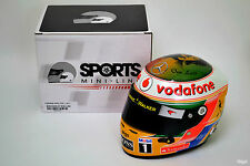 1/2 Lewis Hamilton McLaren 2011 INDIAN GRAND PRIX CASCO f1 Bob Marley