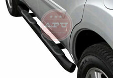 APU 2004-2008 Ford F-150 Super Crew Cab Black Side Step Nerf Bars - SET