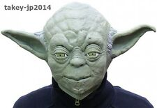 Star Wars Yoda Rubber Mask Cosplay Costume import Japan Limited Free Shipping