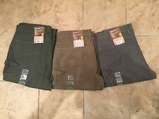 New 36x34 Carhartt Canvas Carpenter Jeans 3 pairs Loose Fit B159