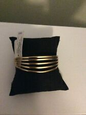 $39 Lucky Brand Gold Tone Trixie Cuff Bracelet D-5