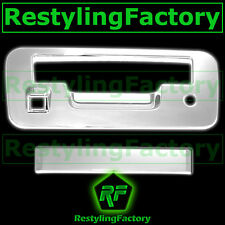 Triple Chrome Plated Tailgate Handle Cover Kit for 13-15 Nissan Titan 2014 2015