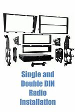 01-05 Lexus IS300 Single+Double Din Aftermarket Stereo Install Radio Dash Kit