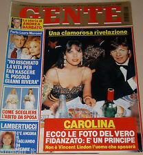 GENTE=1996/8=CAROLINE DE MONACO=PROETTI=PACCIANI=RIVERA CHANTAL=ANDREA BARBATO=