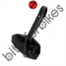 Motorcycle Rectangle Highsider Bar End Mirror in Black