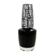 OPI Nail Polish Lacquer Effects Salon Manicure Top Style BLACK SHATTER 0.5 oz @