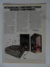 1977 Print Ad Pioneer Electronics Stereo ~ Component Stereo Without Components