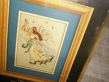 Collectible craft Cross Stitch Kit vintage 1996 Twilight Angel Gold CollectionNU
