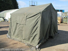 British Army 9x9 Land Rover Canvas Frame Tent DIRECT MOD Garden BBQ Event Party
