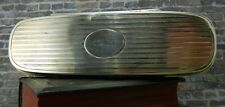 Antique/ Art Deco- Black Starr & Frost- Sterling Silver Glasses Case
