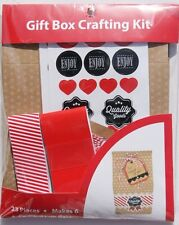 New ! Decorative Make 6 Gift Box Crafting Kit CL-GPC02 Holiday Gift Box Wedding
