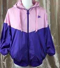 Vintage Nike Jacket Pink And Purple Ladies Size L