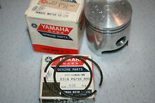 nos Yamaha snowmobile piston and rings  Sw396 1970 1st  vintage GP396 1971